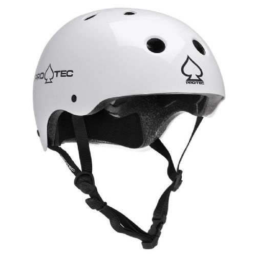 Pro-Tec Classic Certified Helmet Gloss White Small